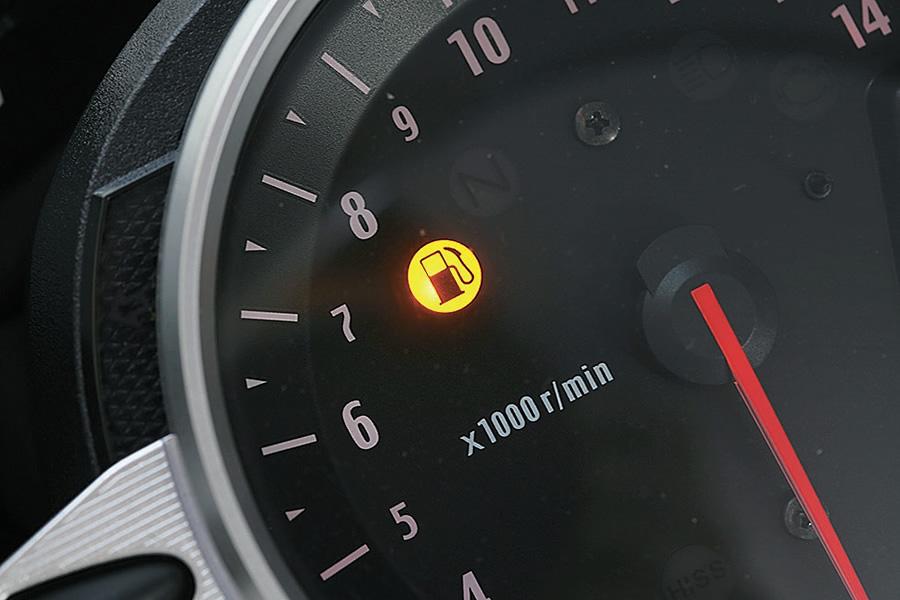 インジェクション車は燃料コックがない