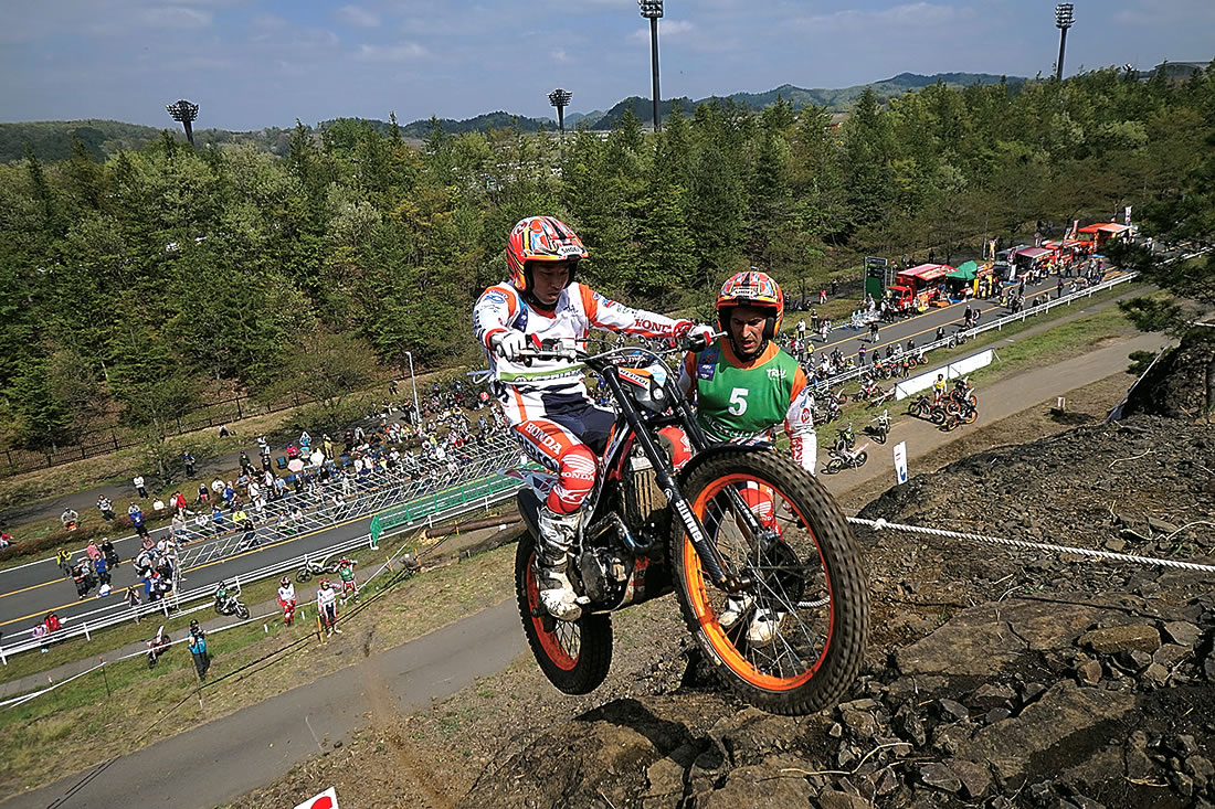 2017FIMトライアル世界選手権第2戦「ストライダー日本グランプリ」