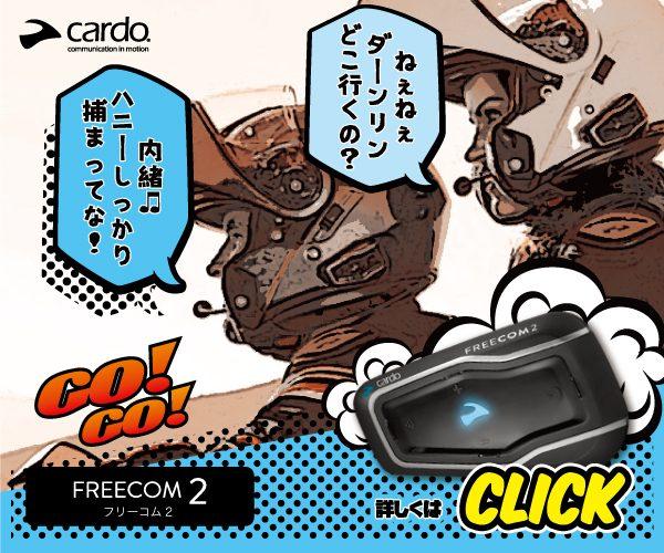 cardo(カルド)インカムFREECOM2